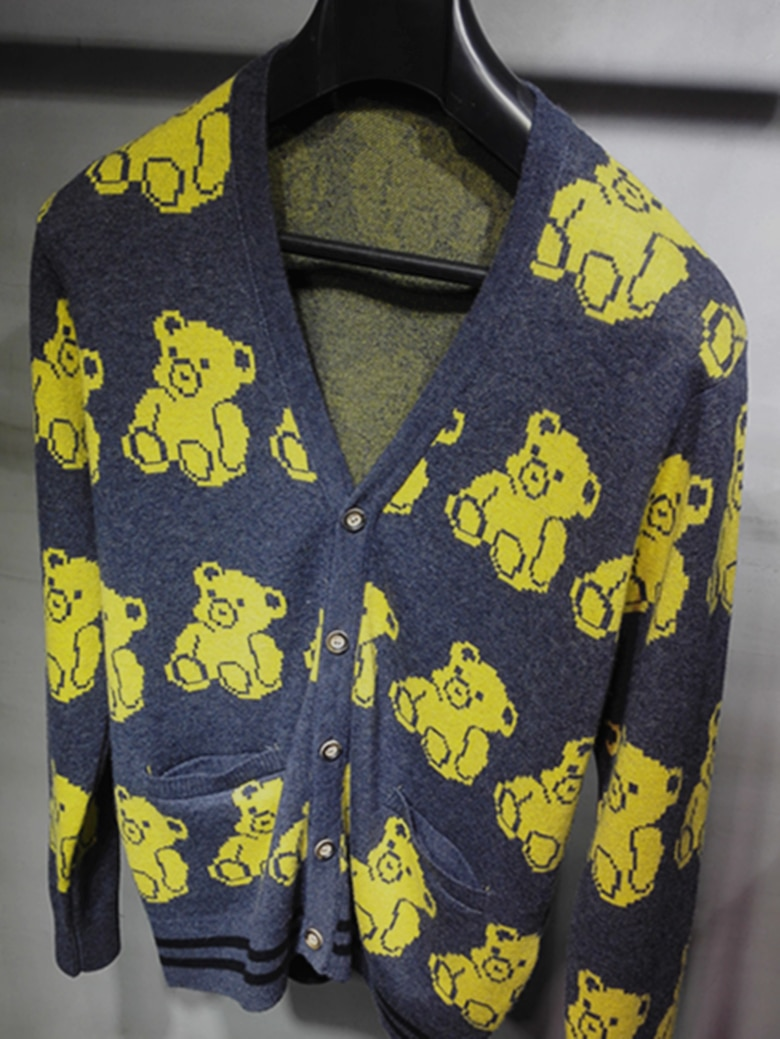 2017 NEW men's bear cashmere sweater