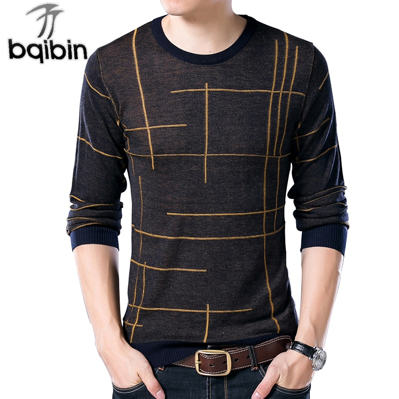 2018 Spring New Men Sweater Casual O-Neck Cotton Pullover Brand Clothing Knitted Sweater Men Pull Homme
