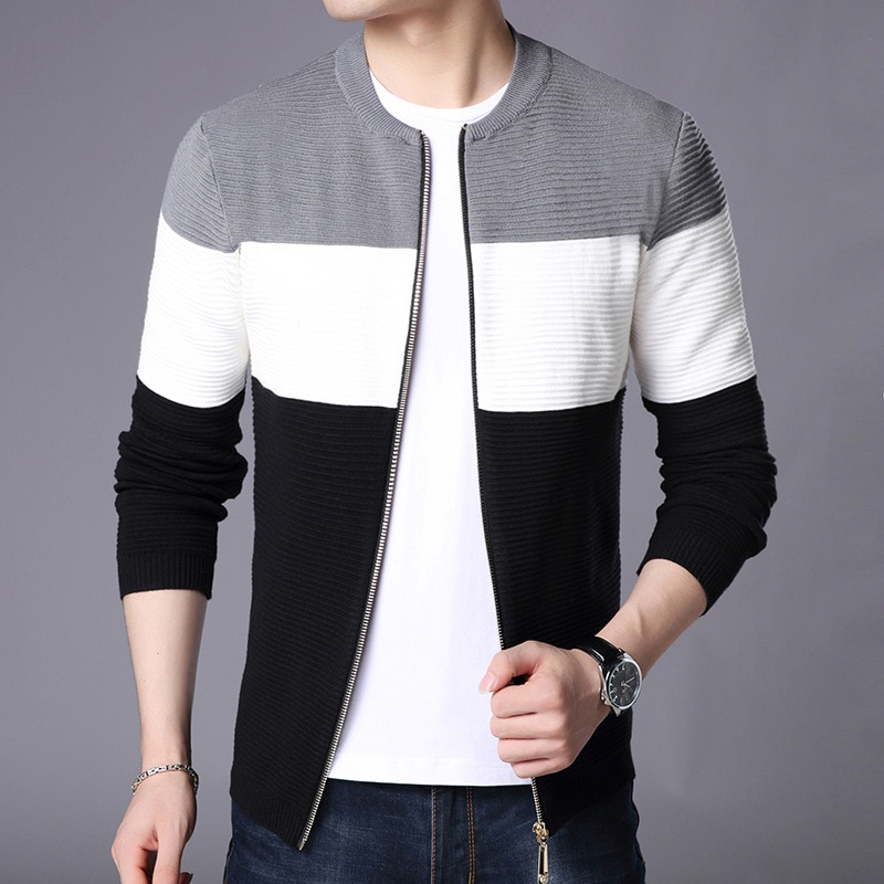 Free shipping New Fashion 2018 Autumn Spring Man Wool Cardigan Men warm Fashion Casual Sweaters Cardigans