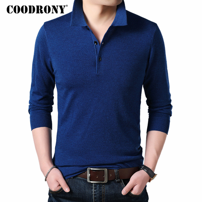 COODRONY Cashmere Sweater Men Clothes 2018 Autumn Winter Thick Warm Wool Pullover Men Business Casual Pull Homme Sweaters 8144