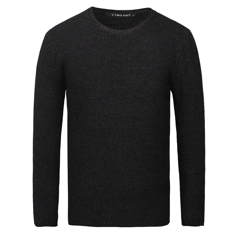 GustOmerD Sweater Men 2018 Brand Clothing Mens Sweaters Fashion Casual Solid Color Knitted Pullover Men O-Neck Dress