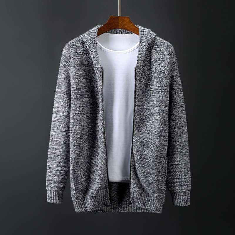 New Arrival Men's Loose Casual Zipper sweater Famous Brand Fashion Warm Long Sleeve Cardigan Large Male plus Size 3xl 4xl5xl 6xl