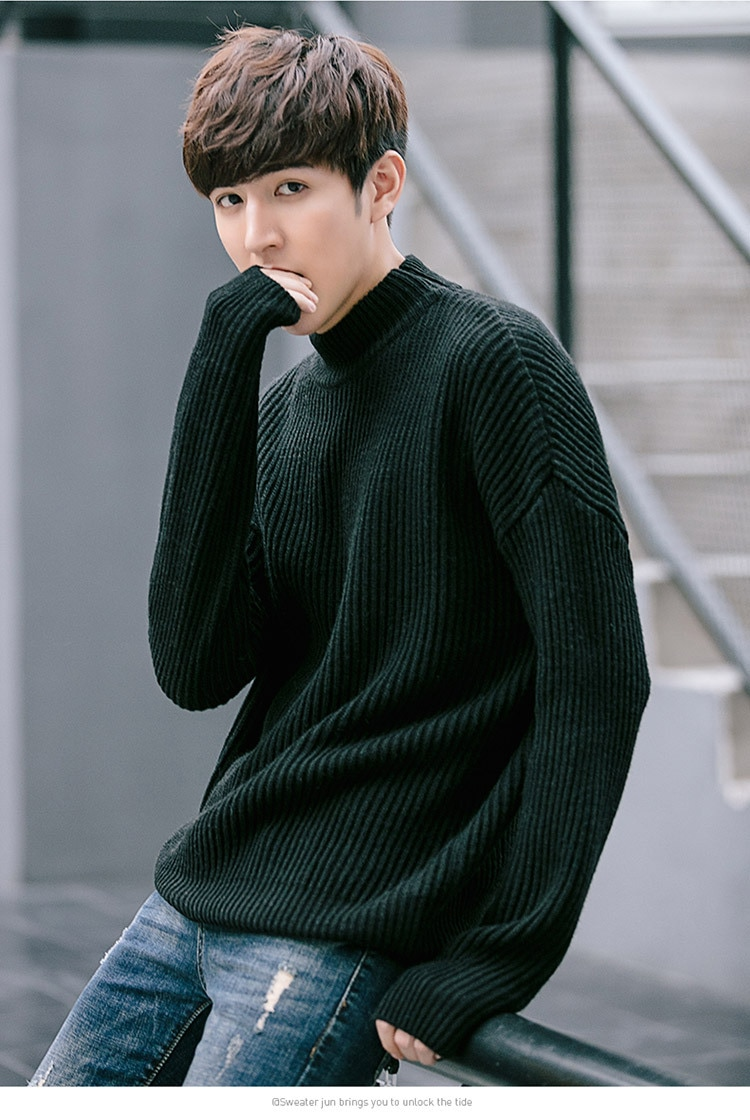 Autumn 2018 new sweater connector leisure style campus men's and women's sweater