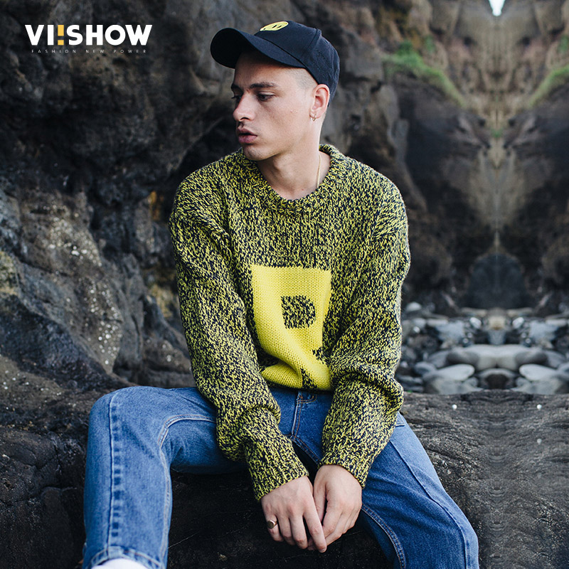 VIISHOW New Pullover Sweaters Men Winter Autumn Casual Warm Knit Sweater Brand Clothing High Quality Men's Sweaters ZC1680173